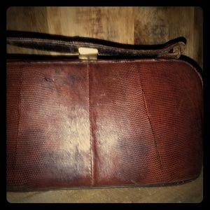 Snake skin vintage bag